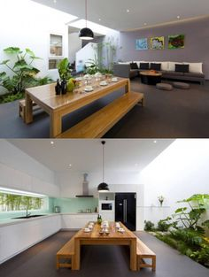 A Fresh Home With Open Living Area U0026 Internal Courtyard