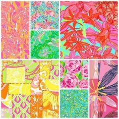Lilly Pulitzer Print Collage: one of these prints is not like the others.....and it is the best one!!!! #DL