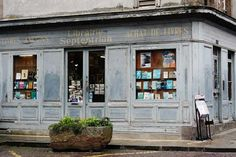 Vintage French Storefront Store Fronts, French Vintage, Buildings, Shops, Tents, Retail Stores