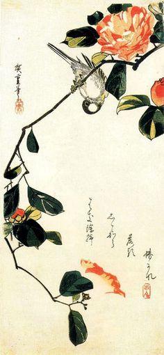 hiroshige. bird & flowers