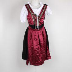 Kostým Edles Midi Dirndl 3-teilig rot - bazar | OdKarla.cz Dresses, Fashion, Dirndl, Red, Vestidos, Moda, Fashion Styles, Dress, Fashion Illustrations
