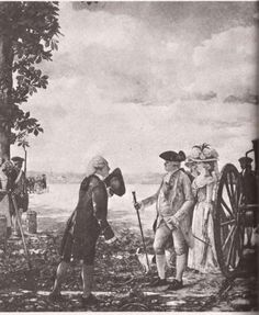 Antoine-Augustin Parmentier showing a crop of potatoes to Louis XVI and Marie Antoinette