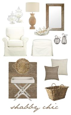 white with natural...just add a pop of blue