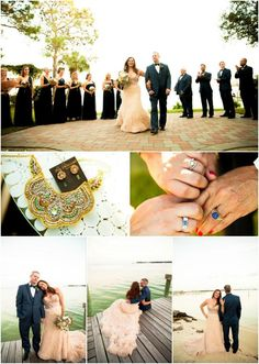 This week's Real Wedding features Mary-Martha and Nathan's outdoor wedding celebration on the beautiful bay of Fort Walton Beach, FL. This location holds a special, and very interesting, meaning to the couple.  Read more on the Wedding Paper Divas blog.