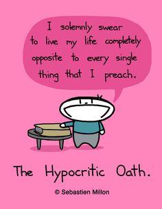 The Hypocritic Oath - Sebastien Millon / Art & Illustration