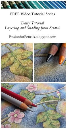 Passion for Pencils: Daily Tutorial - Day 16 - Adding detail