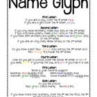 Name Glyph for back to school. Print all of your kiddos named using Word Art in word or powerpoint. They enjoy it!...