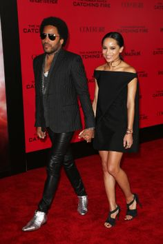 Best Dress// Lenny Kravitz and his daughter are both talented and creative individuals who support each other, and that's a beautiful thing