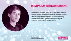 The first Iranian woman to be awarded the most prestigious award in mathematics, the Fields Medal. Iranian Women, Mathematics, Awards, Surface, Science, Fields, Woman, Math, Women