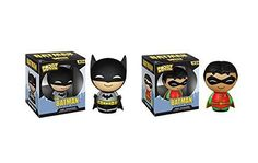 """With this purchase you will receive 1 Batman and 1 Robin Action Figure. Each comes individually boxed together. Collect them ALL!!       Famous Words of Inspiration...""""Anyone without a sense of humor is at the mercy of everyone else.""""   William... more details available at https://perfect-gifts.bestselleroutlets.com/gifts-for-holidays/toys-games/product-review-for-funko-dorbz-batman-and-robin-action-figures/"""