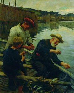 Newlyn, Cornwall, 1906 - Stanhope Alexander Forbes