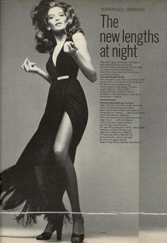 1974 Rene Russo by Richard Avedon for Vogue US