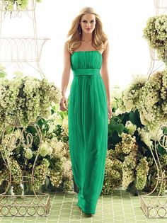 Flowy maxi dress might be good for summer bridesmaids.  Flattering on all my gals.