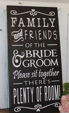 no seating chart sign wedding - Google Search