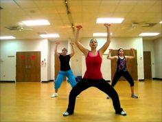 The Mocksville Girls - Press it up (Toning choreography) - YouTube