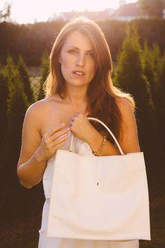 Valencya White #bag #white #croco