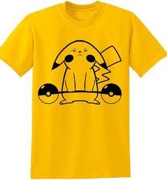 f093e5ad14 Details about Pokemon Go Cardio Funny Shirt Gym Workout Pikachu Nerd Geek  Classic T Shirt Tee