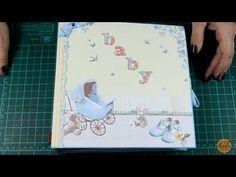 Mini Álbum Scrapbook para niña - Ideartelo - YouTube