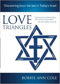 A Jewish woman's unconventional quest to find Jesus in modern Israel With candor and an intimate knowledge of the Land and its people. http://www.amazon.co.uk/Love-Triangles-Discovering-Todays-Israel/dp/0991760441/ref=tmm_pap_swatch_0?_encoding=UTF8&qid=&sr=