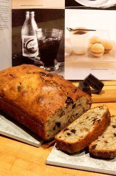 Madame Anne aux fourneaux: Pain aux bananes et au chocolat