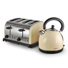 Retro Toaster - bunt, frech, schlicht, alles ist möglich! Dj Supplies, Hifi Shop, Retro Toaster, Bed And Breakfast, Kettle, Bunt, Color Splash, Kitchen Appliances, Cream