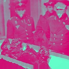 The remains of Soviet cosmonaut Vladimir Komarov, who fell from space, 1967 edited with #Glitche App. Date: 09/02/2015 Time: 8:21:17 am @glitcheapp #glitcheapp #space #cosmonaut #glitch #komarov