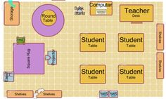 Online program to help you design your classroom space. The tool is here: http://classroom.4teachers.org/.