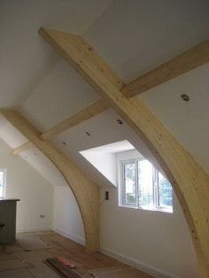 Glulam portal frames supplied by Buckland Timber