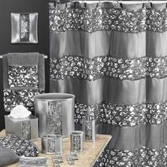 Sinatra Bath Collection | Shower Curtains | Brylanehome