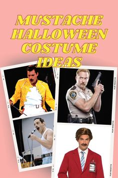 Take a look at the 23 most epic mustache Halloween costume ideas for you to pick! #halloween #halloweencostume #halloweenmencostume #costumeideas