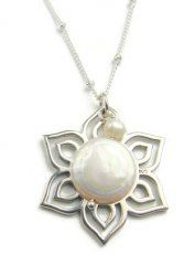 Moonlight Lotus Pendant Necklace- Inner Beauty Rejuvenation