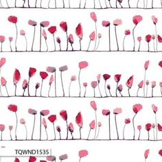 Wonderland Fabric from Art Gallery Katarina Roccella Petal Flamingo Love Red and Pink Floral Flowers in Stripes Stripe on White Art Gallery Fabrics, Adventures In Wonderland, Alice In Wonderland, Stoff Online Shop, Couture, Red Poppies, Floral Flowers, Red And Pink, Fabric Design
