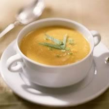 Alkaline Diet Recipe #96: Sweet Potato Soup - This sweet potato soup recipe has been created by the famous British chef Antony Worrall Thompson.