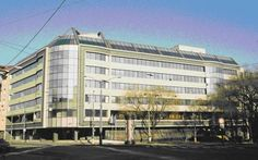Exchequer Headquarter/ Štátna pokladnica, 2000, Ateliér Borecký Bratislava, Modern Architecture, Multi Story Building, Atelier, Modernism, Contemporary Architecture