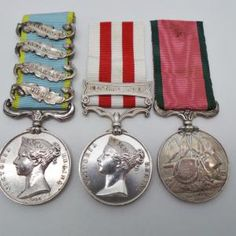 Light Brigade Crimea (4 Clasps), Indian Mutiny (Clasp - Central India) and Turkish Crimea Medal Group to a Charger - 8th King's Royal Irish Hussars | Cultman Collectables