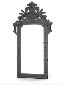 Black Venetian Mirror Love