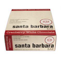 Santa Barbara Bar Cranberry White Chocolate (12x1.58 OZ)