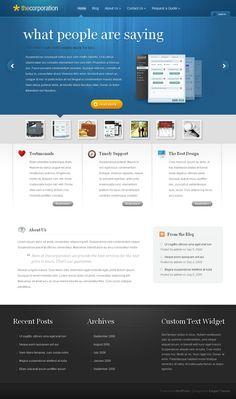 TheCorporation WordPress Professional Theme