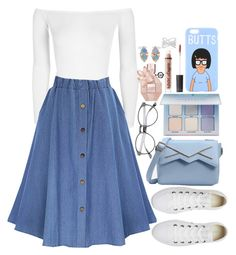 """""""#28"""" by princessofships ❤ liked on Polyvore featuring Boohoo, Converse, WWAKE, Viktor & Rolf, Anastasia Beverly Hills, Charlotte Russe and Effy Jewelry"""