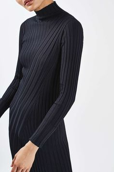 Directional Rib Dress by Boutique - Boutique - Clothing - Topshop