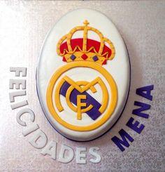 Tarta Real Madrid (otra) | De Perla's | Tartas fondant personalizadas en Málaga