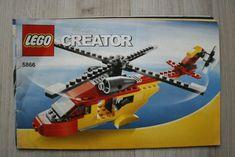 No missing pages or major tears. Lego Creator, The Creator, Lego Instruction Books, Lego Instructions, Lego Building, Bricks, Ebay, Learning, Brick