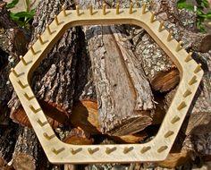 Hexagon Lap Weaving Loom for Yarn Trivets by AngelaCreations, $28.00