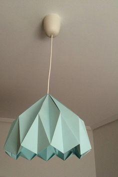 Origami lamp lámpara de origami por adetailssmallshop en Etsy