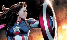 Since Captain America's introduction in 1941, a number of people have taken up the mantle originally held by Steve Rogers - Bucky Barnes, Sam Wilson...and now Peggy Carter.