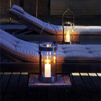 Blomus - Lumbra Lantern With Candle