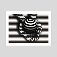 Art Prints by Gvardian Gyula - INPRNT Op Art, Art Prints, Abstract, Gallery, Artwork, Painting, Printed, Paper, Cotton