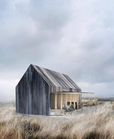 The 'Boat House' by Copenhagen-based architecture studio WE Architecture, built for a private client, is a serene nest in the nature and a smart storage solution. See more on iGNANT.com