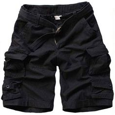 new fashion summer style mens camouflage shorts cotton casual shorts men pockets beach shorts men's Cargo shorts