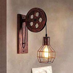 Muro esterno lampada Duchess vintage design vetro alluminio e27 LAMPADA PARETE LANTERNA